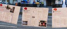 Die Burak-Ausstellung in neuer Form, erstmals gezeigt am 14.02.2015 - Burak wäre 25. geworden