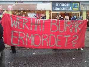 24.11.2012 Transparent bei den Protesten gegen Naziaufmarsch in Rudow
