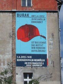 Mural/Wandbild vom 24.03. bis 29.05.2015 an der Hauswand Oranienstr. 1/Manteuffelstr. 42 direkt am Görlitzer Bahnhof in Berlin