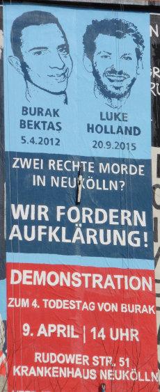 Mural/Wandbild seit dem 05.03.2016 am Görlitzer Bahnhof